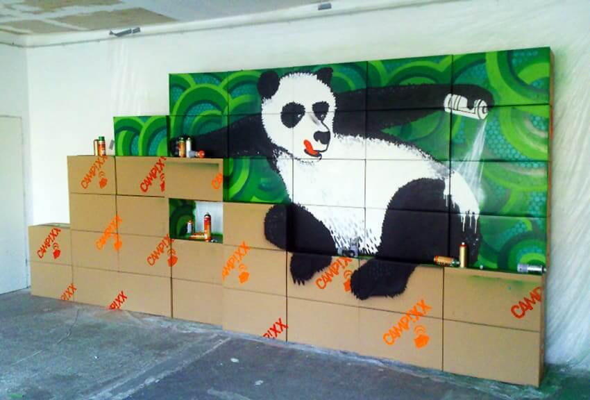 Google Panda Update- Indoor Graffiti- Commissioned Project