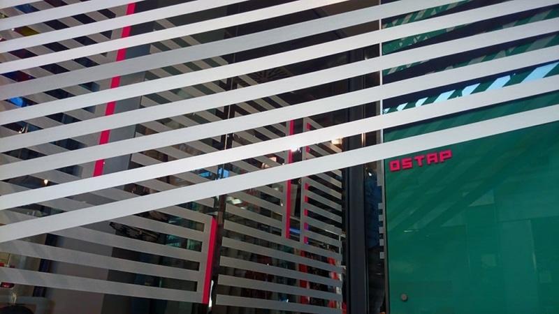 Joy- 3d duct tape installation for street art festival- closeup