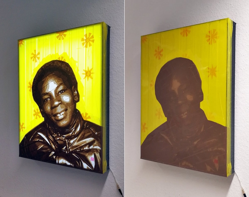 Tape-Art-Paketklebeband-Mike-Tyson-portrait-2015-Beleuchtung
