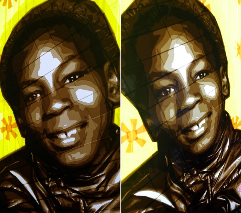 Tape-Art-Paketklebeband-Mike-Tyson-portrait-Ostap-artist-2015-Nahaufnahme