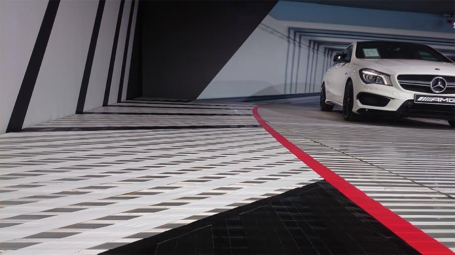 Tape-Art Auftragskunst-Mercedes AMG- DTM Team 2