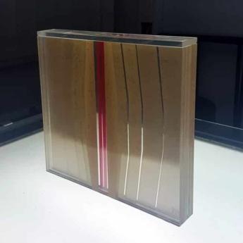 Three-dimensional tape sculpture by Slava Ostap