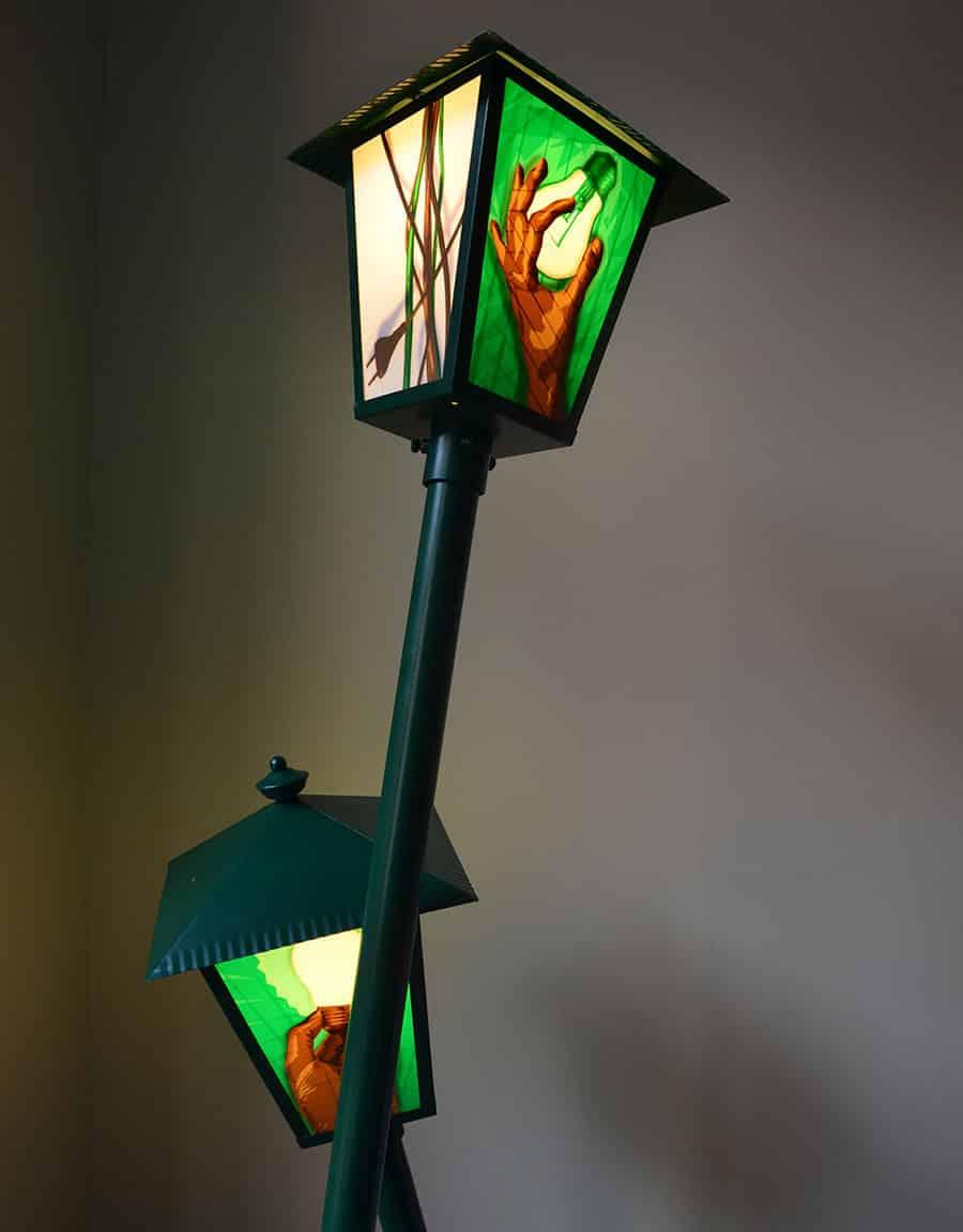 turnthelighton-packing-tape-installation-lantern-lamp-design-ostap-2013-closeup 4