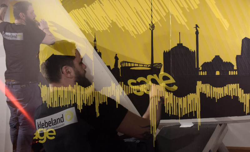 Ostap's live painting Show- Collage