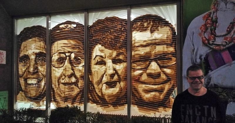 Einwohner von Huzur Seniorenheim-Soziales Kunst Projekt- Bulowstr