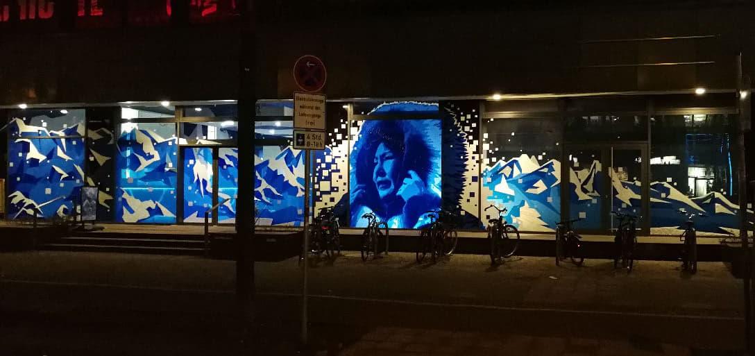 Tape Street Art- Selfmadecrew- panorama image