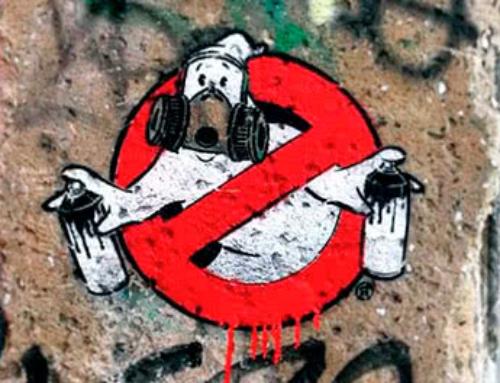 Graffiti Busters- Stencil street art