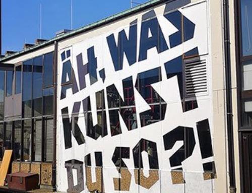 Minimalistic Graffiti for Berlin Mural Fest