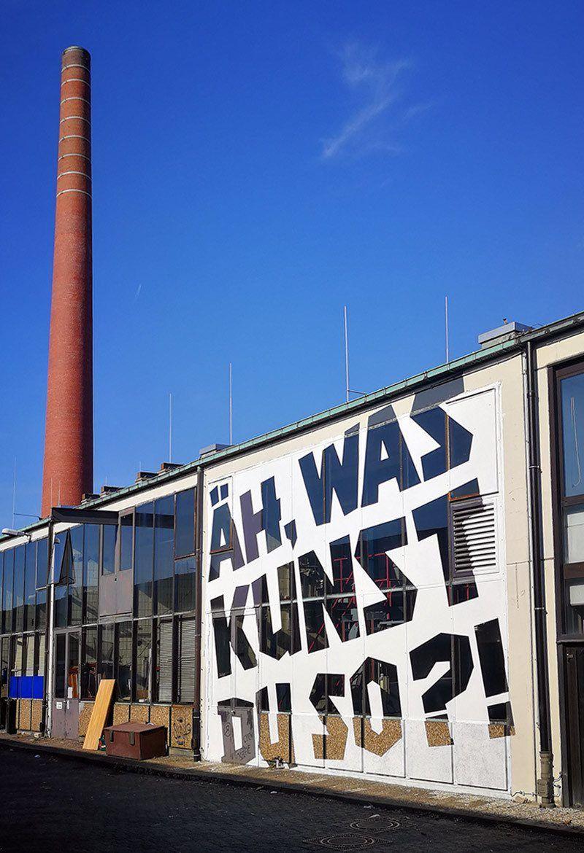 was kunst du so- Ostap's Graffiti Mural