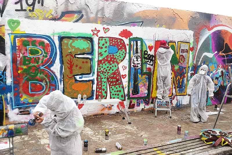 """BERLIN"" graffiti lettering: The common artwork"