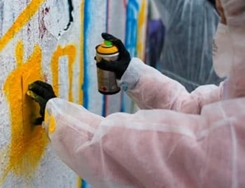 Graffiti workshop with Berlin street-artist