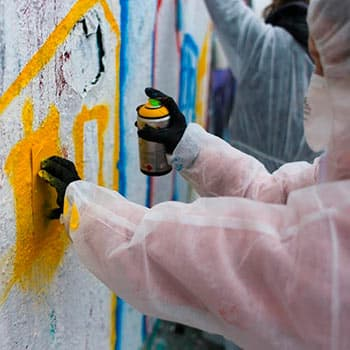 Graffiti workshop for children and adults