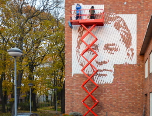 Mural art in prison